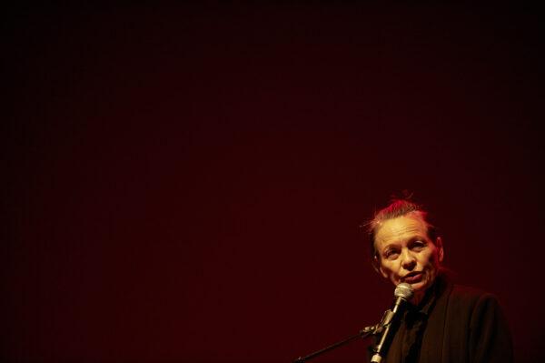 Laurie Anderson am woerdz Festival I'm Südpol Luzern